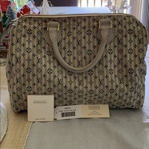 Authentic LV Speedy Mini Lin.